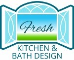 fresh kitchen and bath design logo
