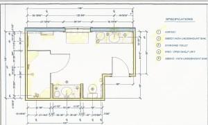 kitchen and bath design 2D bath plan
