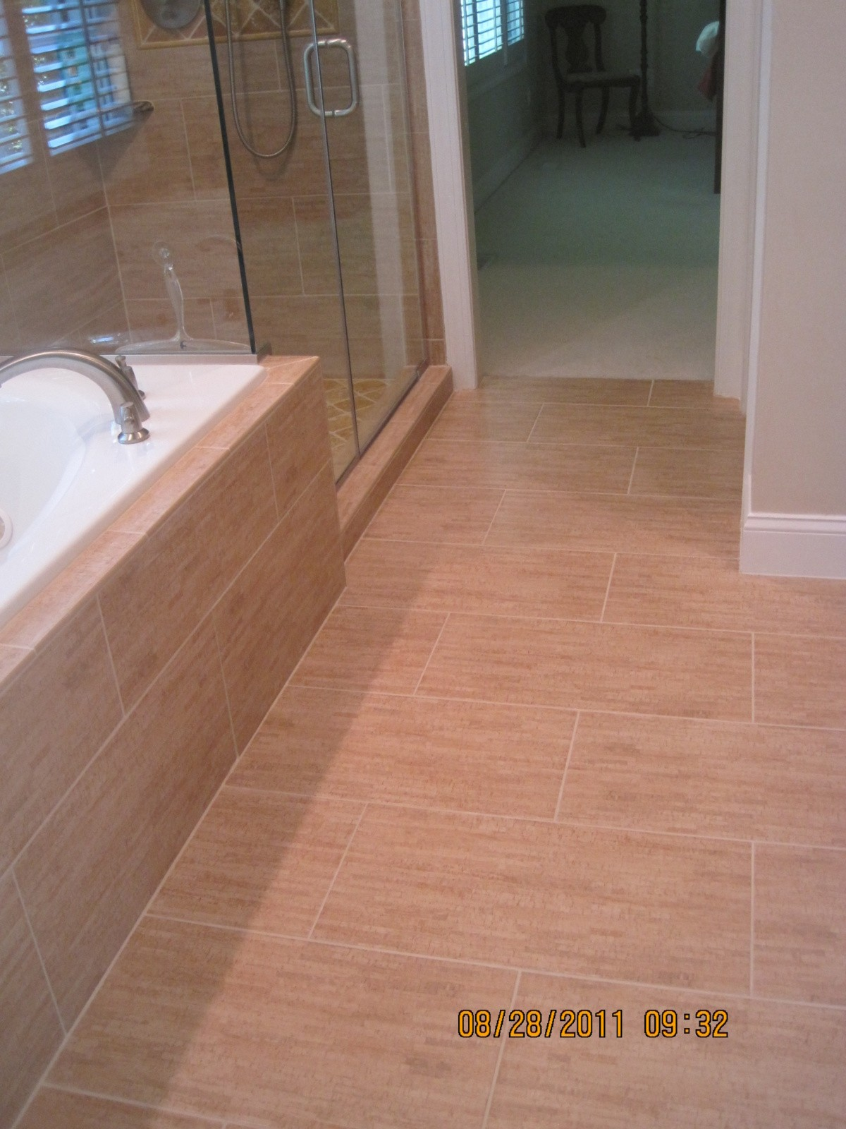 bamboo tile floor