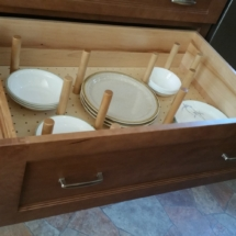 Pegged Plate Drawer