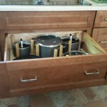 Pegged Pot Drawer