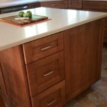 island drawer stack