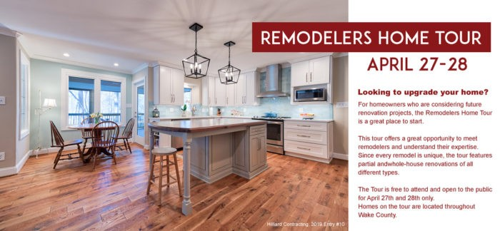 Remodelers Home Tour 2019