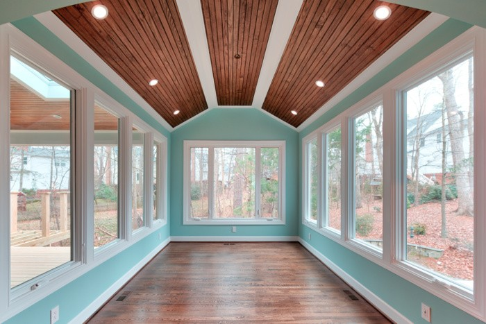 after - new sunroom/breakfast nook