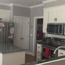 small island and new appliances